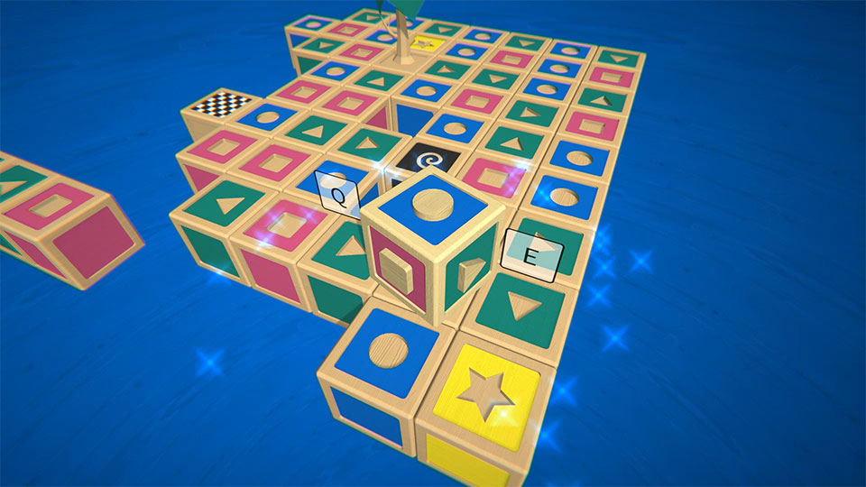 Side Decide puzzle game for steam, pc, mac, windows